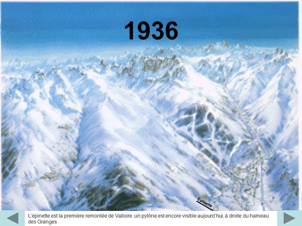 Pour fêter le 2e millénaire, Valloire offre aux skieurs le TC 8 places du Crey de la Brive, rendant le massif du Crey du Quart beaucoup plus accessible et attractif.