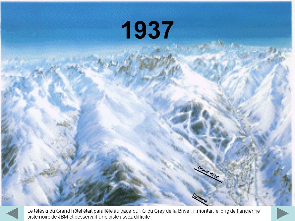 Le premier tronçon du massif de la Sétaz est équipé par un télébenne (arrêté il y a une dizaine dannée).