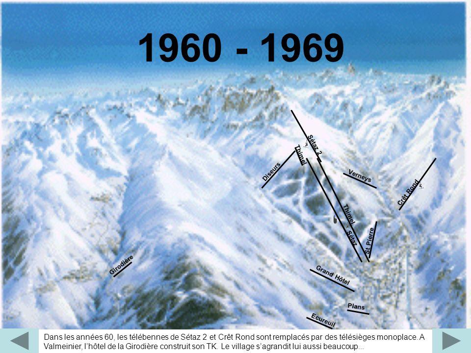 Au début des années 70, le Crey du Quart est équipé par la commune, véritable révolution pour la station, qui double ainsi son domaine skiable.