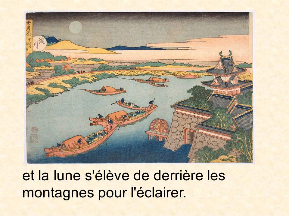Le malheur sort de la bouche d une personne et la détruit, Hokusai