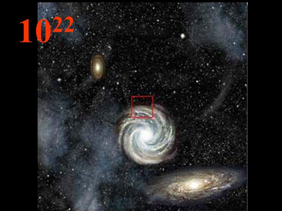 Limmensité, infinie, les galaxies ne sont que de petites choses et, entre elles, des espaces vides.