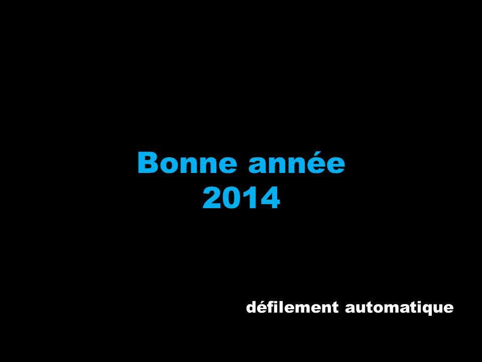 Bonne année 2014 défilement automatique