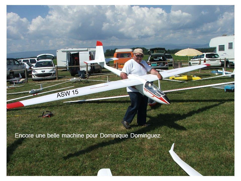Encore une belle machine pour Dominique Dominguez. ASW 15