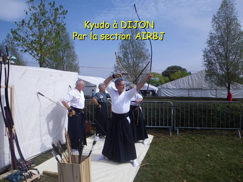 Promotion du kyudo à DIJON