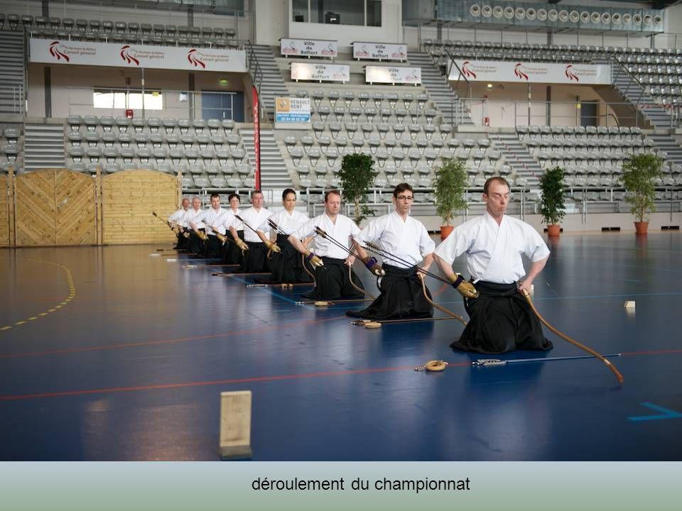 tir de cérémonie présenté à 13h en ouverture du tournoi