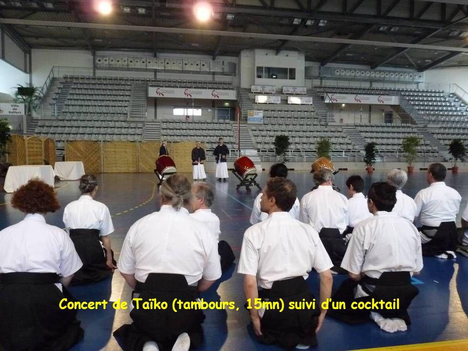 Concert de Taïko (tambours, 15mn) suivi dun cocktail