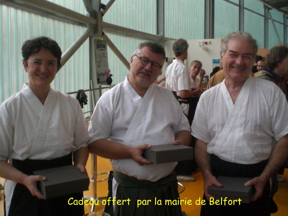 Cadeau offert par la mairie de Belfort