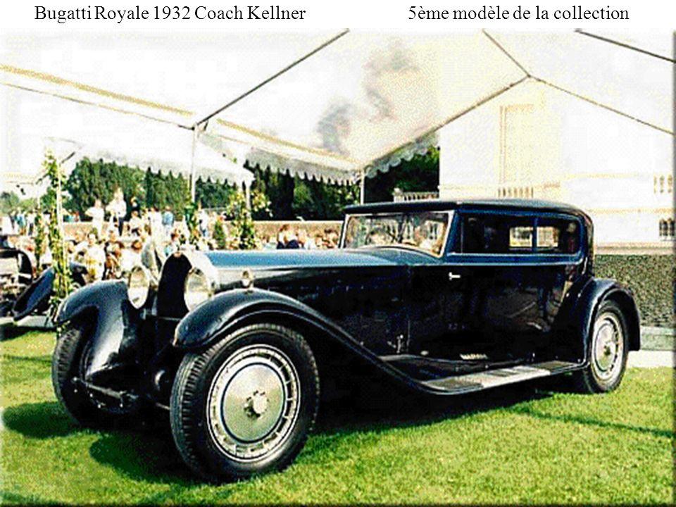 Bugatti Royale 1932 Coach Kellner 5ème modèle de la collection