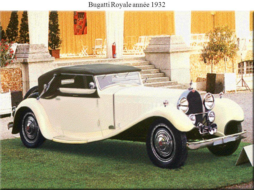 Bugatti Royale année 1932