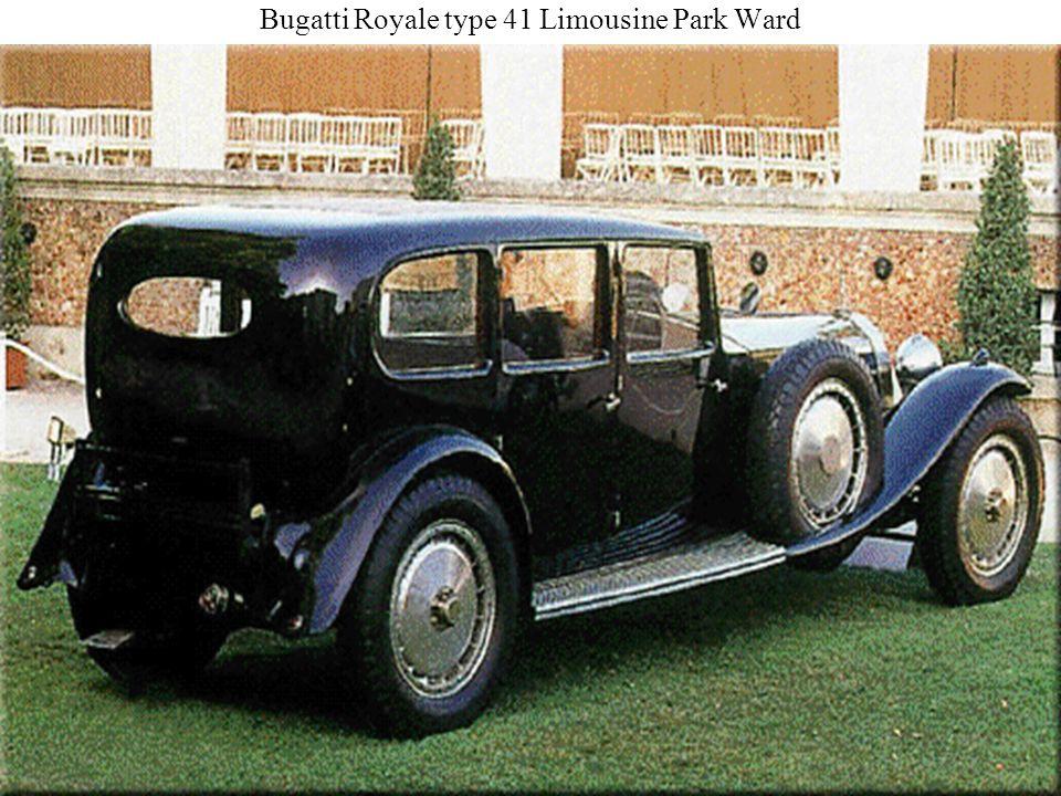 Bugatti Royale type 41 Limousine Park Ward