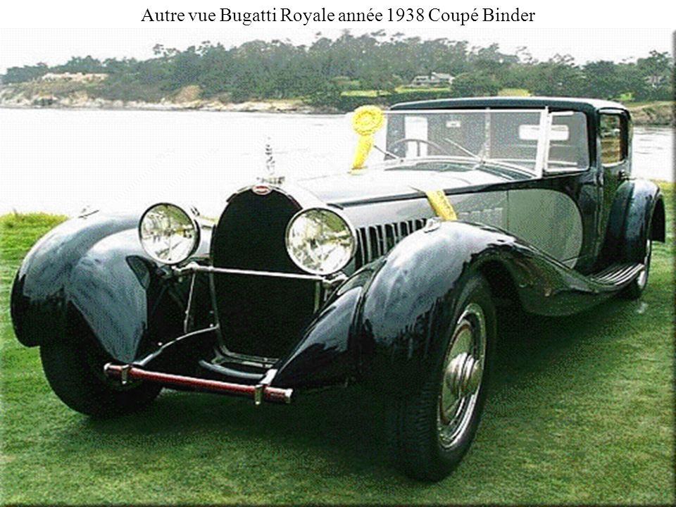 Autre vue Bugatti Royale année 1938 Coupé Binder