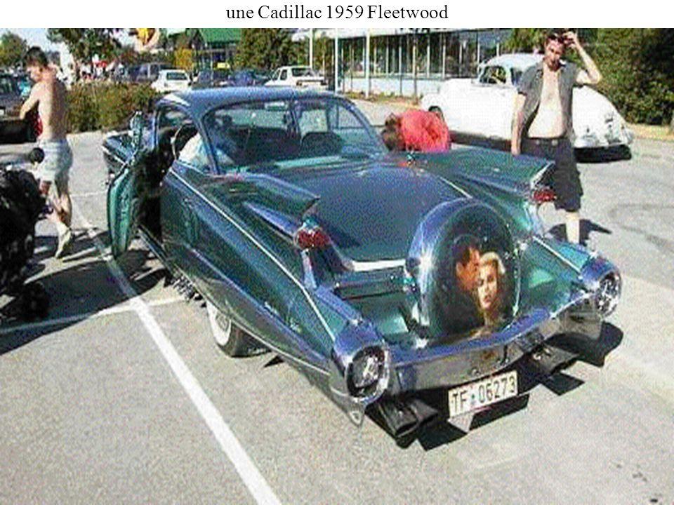 une Cadillac 1959 Fleetwood