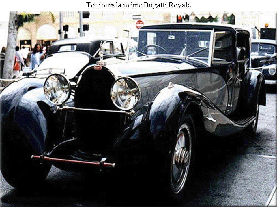 Toujours la même Bugatti Royale