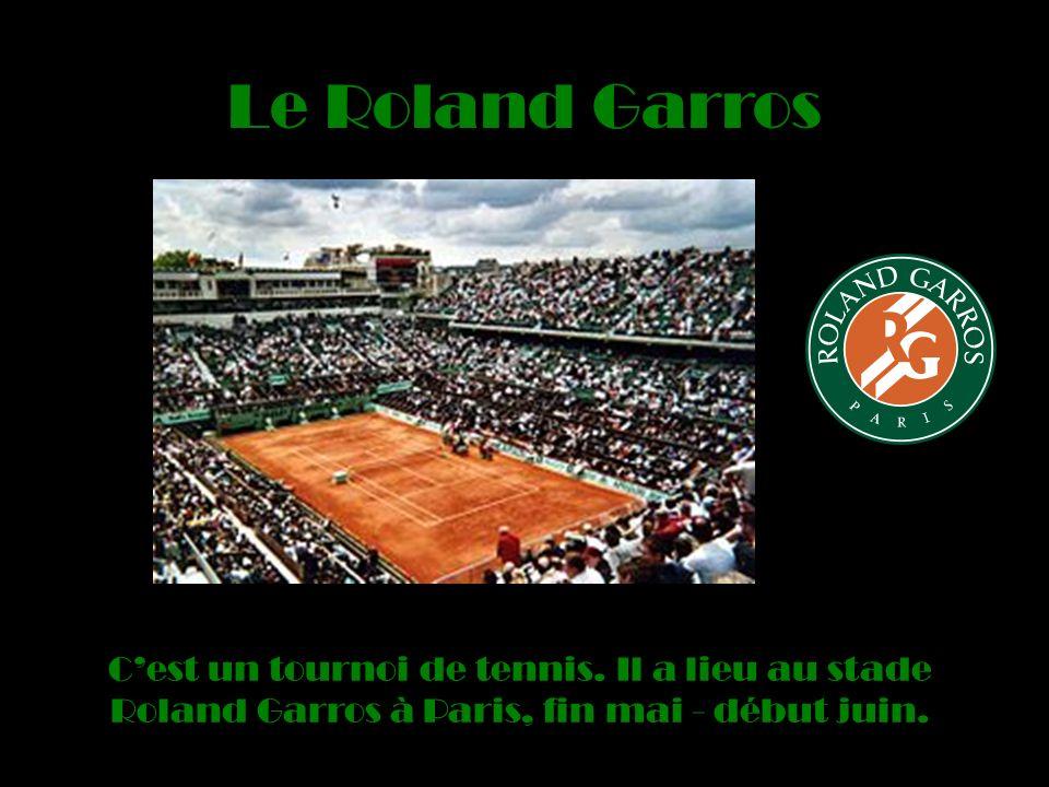 Le Roland Garros Cest un tournoi de tennis.