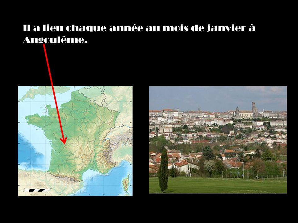 Il a lieu chaque année au mois de janvier à Angoulême.