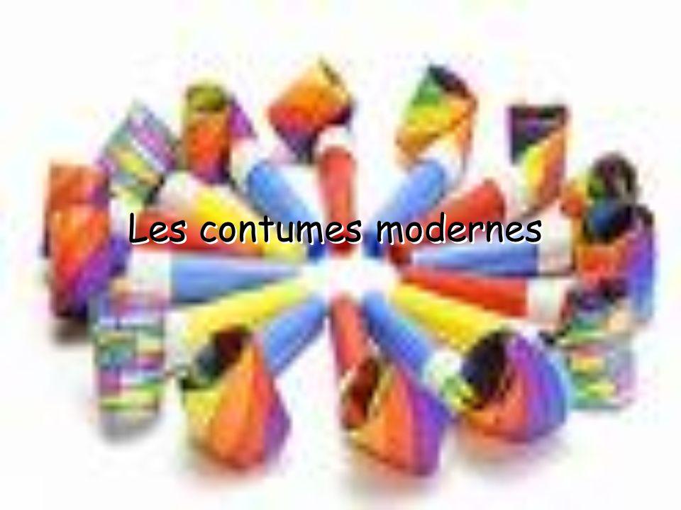 Les contumes modernes