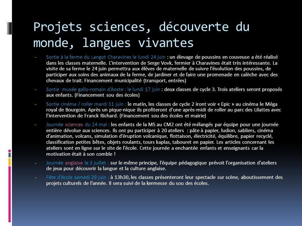 Projets sciences, découverte du monde, langues vivantes - Sortie à la ferme du Langot Charavines le lundi 24 juin : un élevage de poussins en couveuse