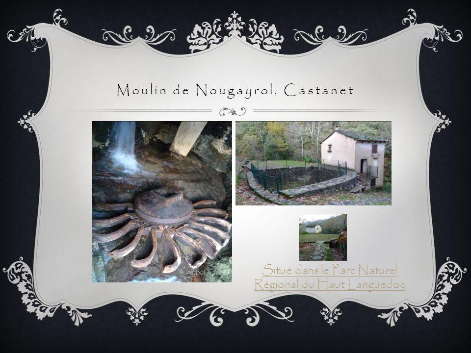 Moulin de Nougayrol, Castanet Situé dans le Parc Naturel Régional du Haut Languedoc