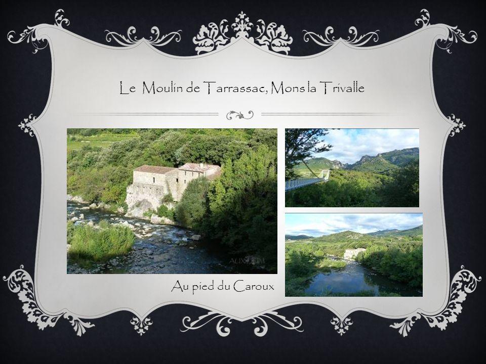 Le Moulin de Tarrassac, Mons la Trivalle Au pied du Caroux