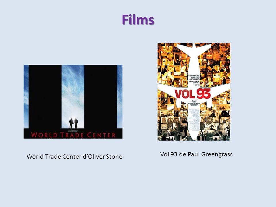 Films World Trade Center dOliver Stone Vol 93 de Paul Greengrass