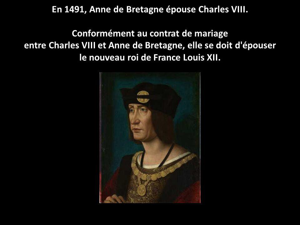 En août 1488, François II doit promettre, par le traité de Sablé ou