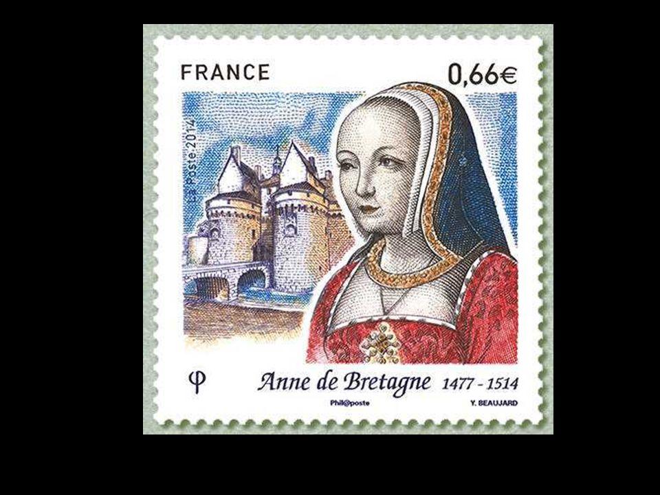 Anne meurt de la gravelle au château de Blois, le 9 janvier 1514, Elle n'a même pas 37 ans ! Elle est inhumée à Saint Denis, alors que son cœur est, q