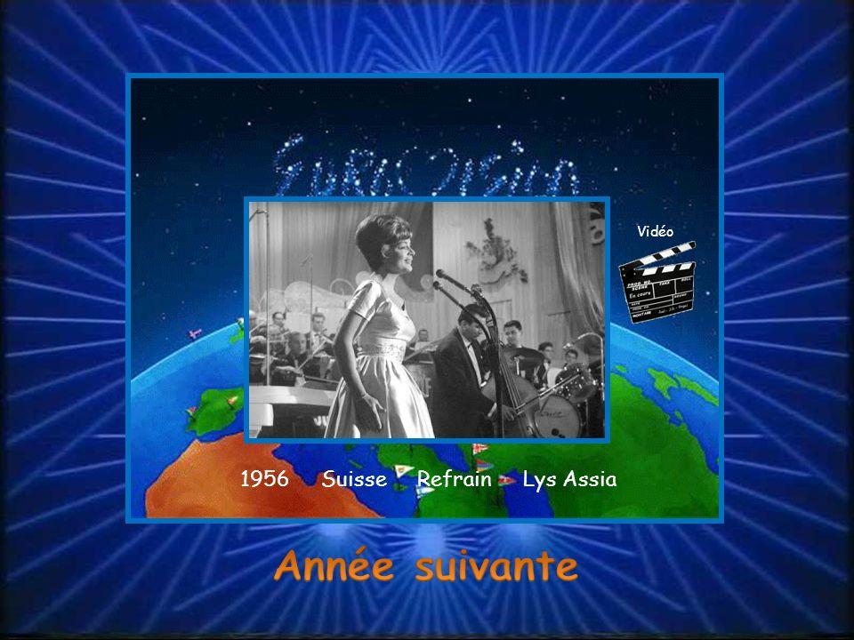 1956 Suisse Refrain Lys Assia Vidéo