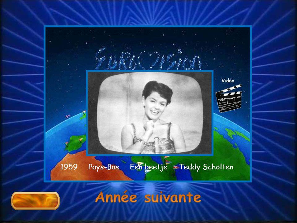 1959 Pays-Bas Een beetje Teddy Scholten Vidéo