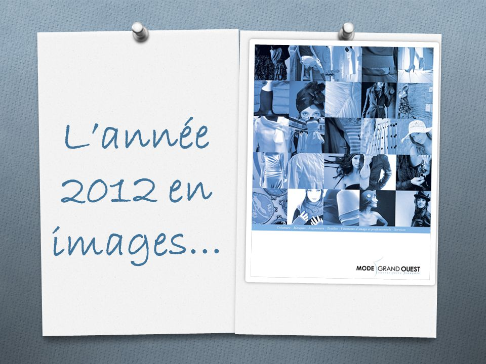Lannée 2012 en images…