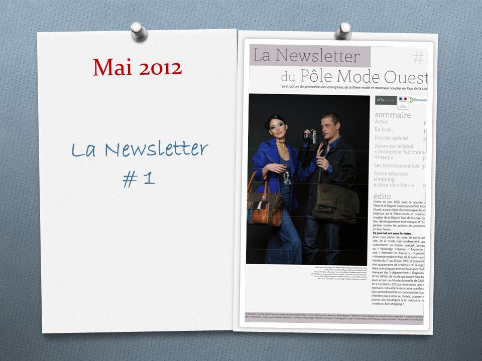 Mai 2012 La Newsletter # 1