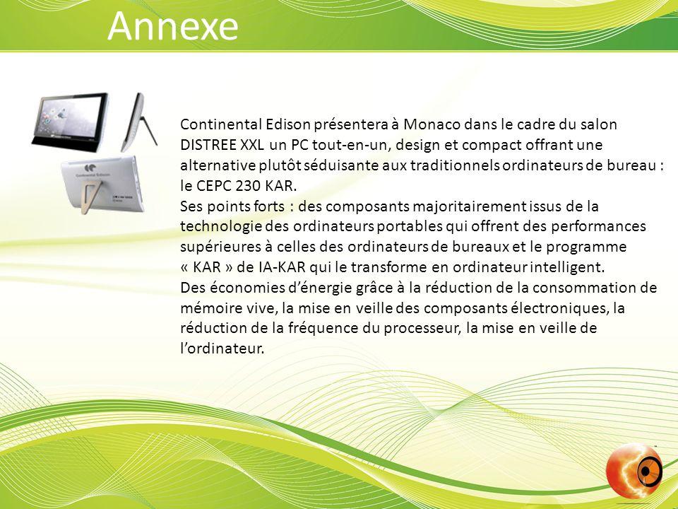 Continental Edison présentera à Monaco dans le cadre du salon DISTREE XXL un PC tout-en-un, design et compact offrant une alternative plutôt séduisante aux traditionnels ordinateurs de bureau : le CEPC 230 KAR.
