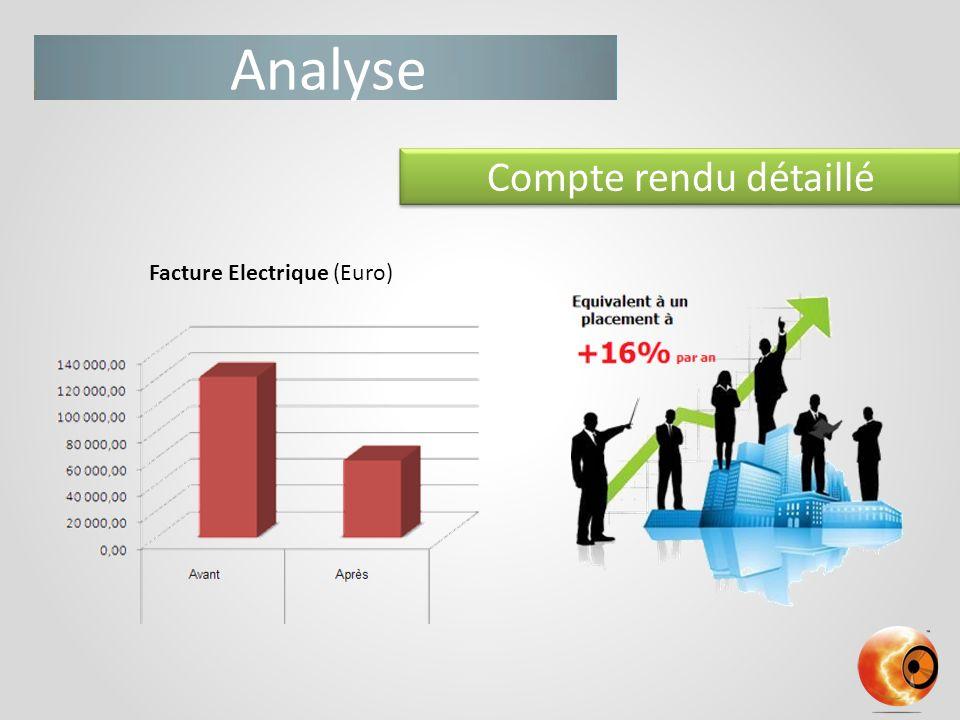 Analyse Compte rendu détaillé Facture Electrique (Euro)