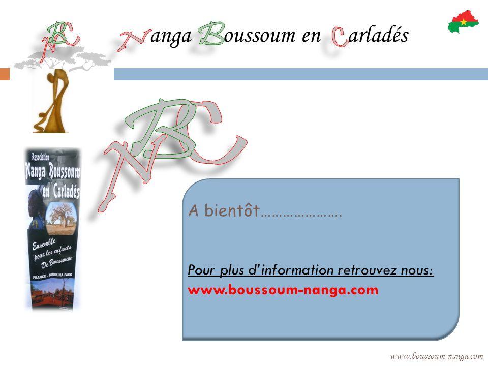 anga oussoum en arladés www.boussoum-nanga.com A bientôt…………………. Pour plus dinformation retrouvez nous: www.boussoum-nanga.com