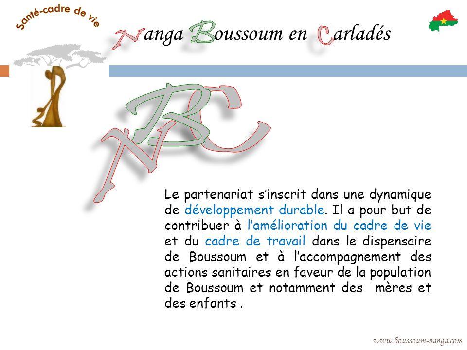 anga oussoum en arladés www.boussoum-nanga.com Le partenariat sinscrit dans une dynamique de développement durable. Il a pour but de contribuer à lamé