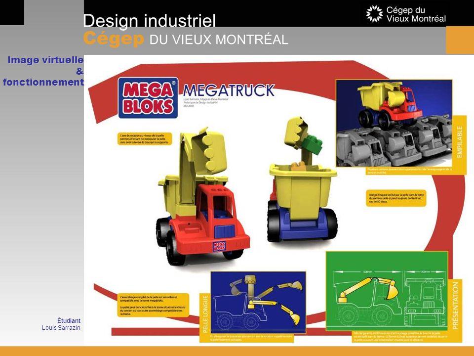 Image virtuelle & fonctionnement Étudiant Louis Sarrazin