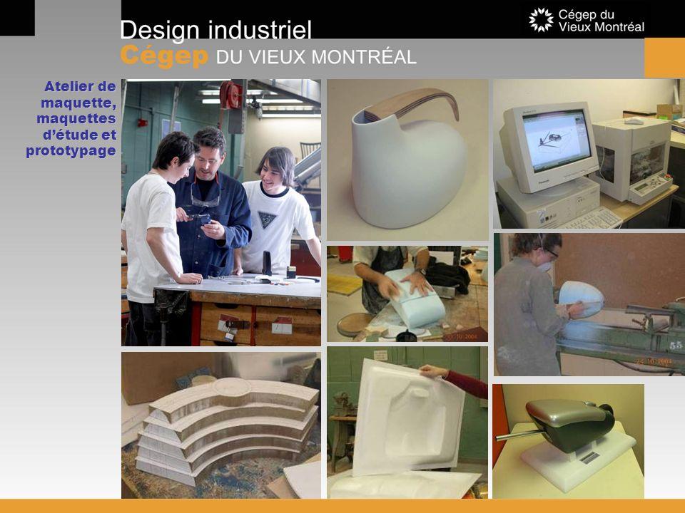 Atelier de maquette, maquettes détude et prototypage