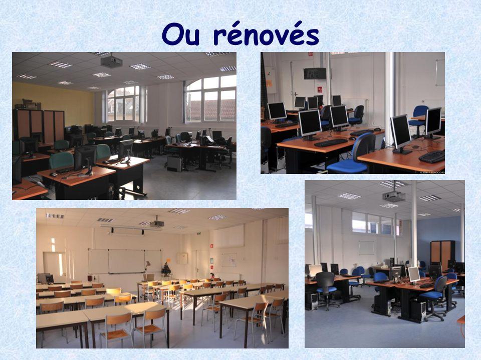 Une surface daccueil de 750 m²comprenant En rez-de-jardin - 1 espace documentaire - 1 espace de lecture - 2 salles informatiques pour accueillir des classes entières En rez-de-chaussée - 1 salle dexposition de 112m2 - 3 salles darchives de 100m2 Un nouveau CDI