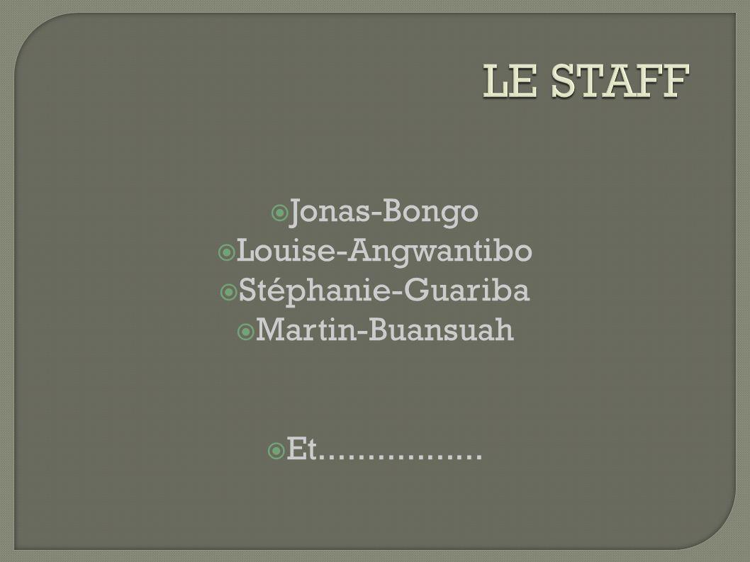 Jonas-Bongo Louise-Angwantibo Stéphanie-Guariba Martin-Buansuah Et.................