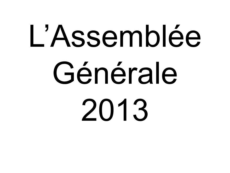 LAssemblée Générale 2013