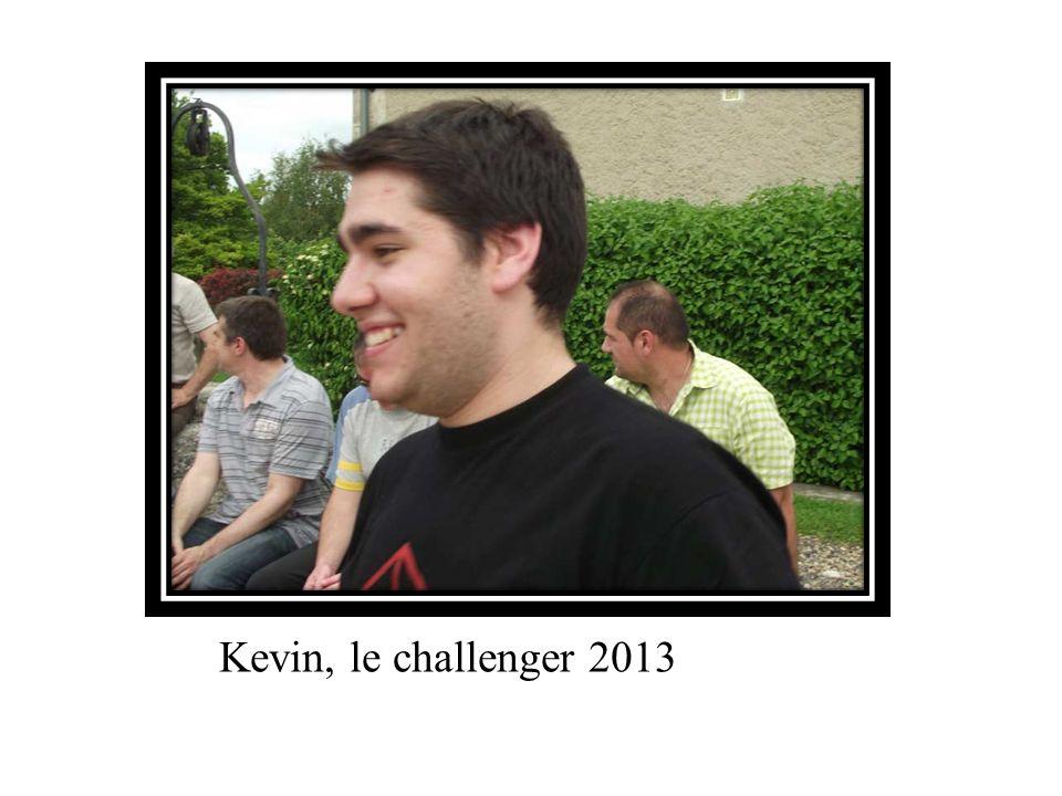 Kevin, le challenger 2013
