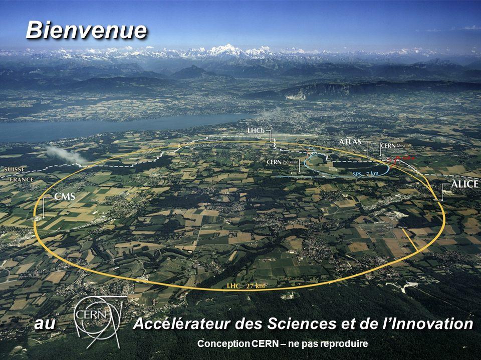 au Accélérateur des Sciences et de lInnovation au Accélérateur des Sciences et de lInnovation BienvenueBienvenue Conception CERN – ne pas reproduire