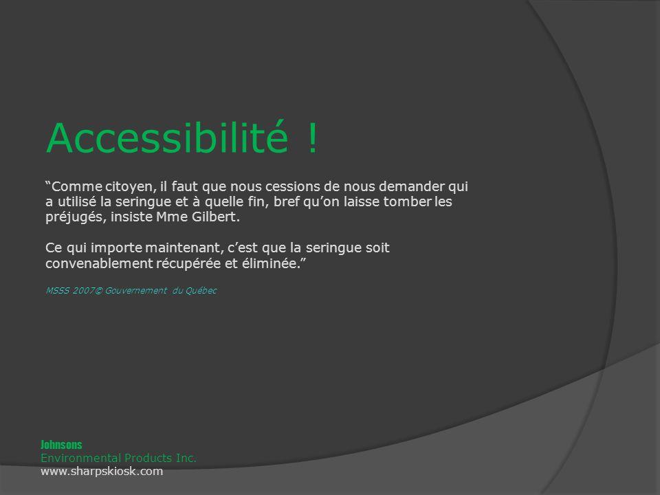 Accessibilité .