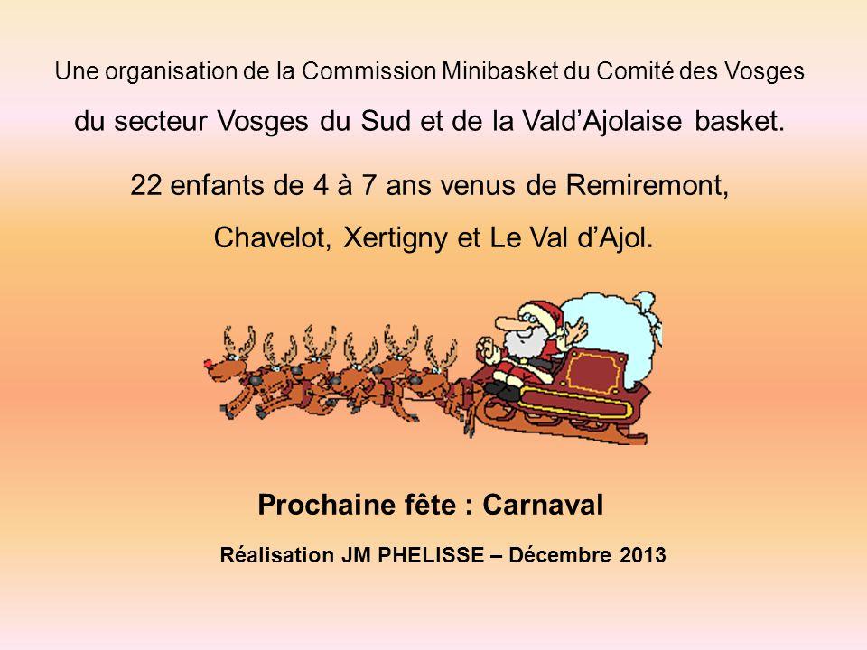 Tous les babybasketteurs du secteur Vosges du sud vous souhaitent un Joyeux Noël et une bonne et heureuse année 2014.