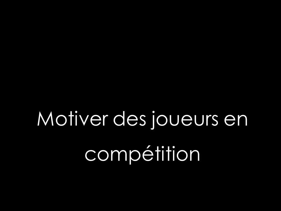 Motiver des joueurs en compétition