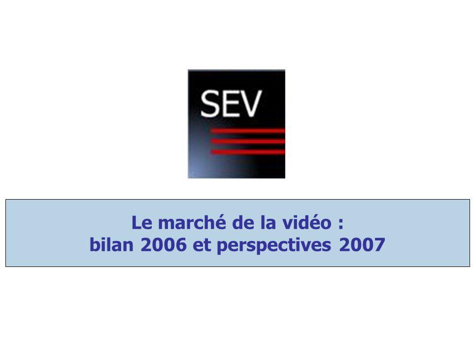 Le marché de la vidéo : bilan 2006 et perspectives 2007