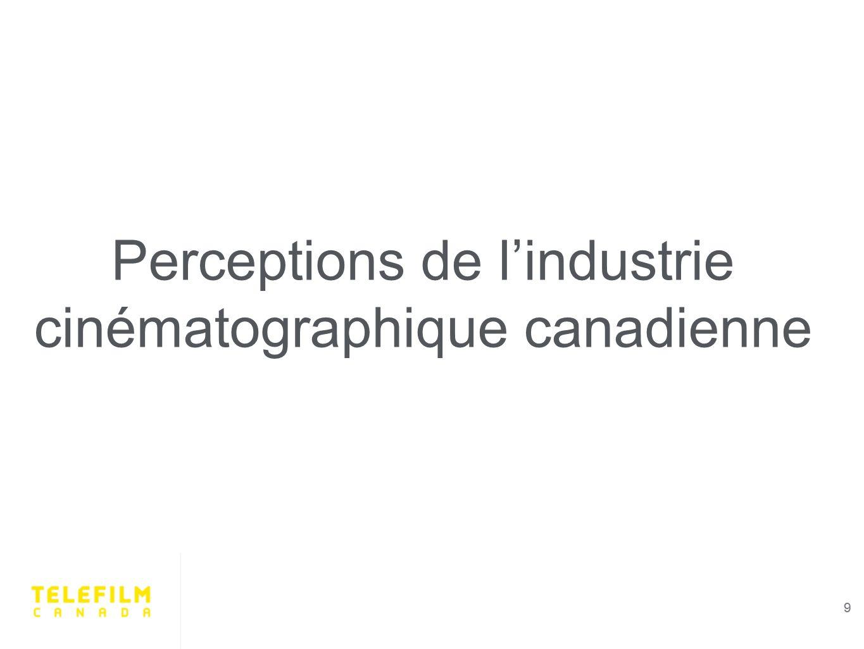 9 Perceptions de lindustrie cinématographique canadienne 9