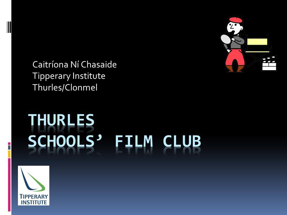 Caitríona Ní Chasaide Tipperary Institute Thurles/Clonmel