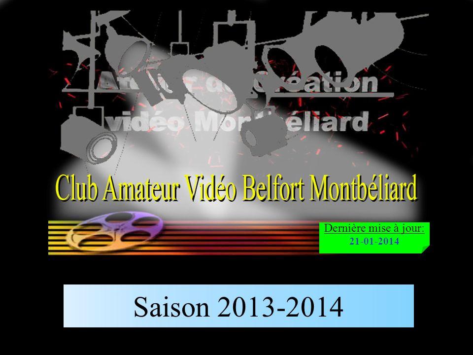 Saison 2013-2014 Dernière mise à jour: 21-01-2014