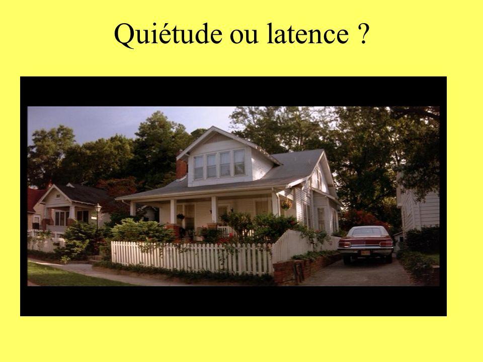 Quiétude ou latence ?