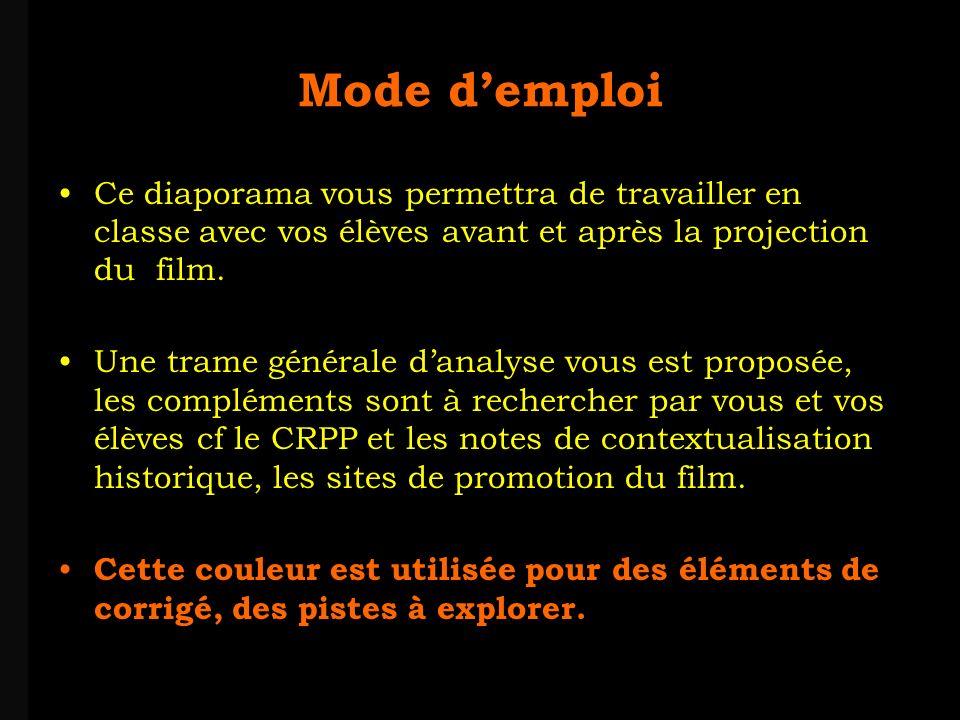 louis-jean Roparslouis-Jean ropars Mode demploi Ce diaporama vous permettra de travailler en classe avec vos élèves avant et après la projection du film.